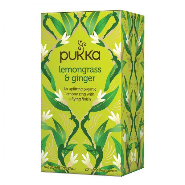 Pukka Organic Lemongrass & Ginger Tea